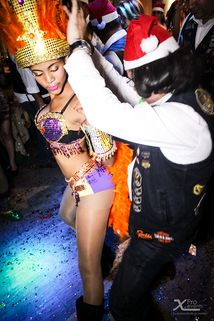 X Pro events - Fiesta HOK Dominicano 2014_12_05 (10)(Hora loca bailarina de Samb