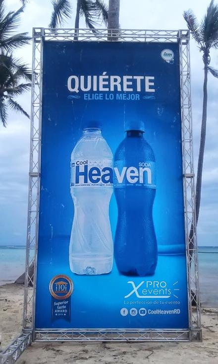 Truss para banner Kool Heaven - X Pro Ev