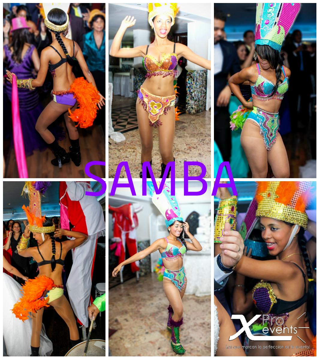 X Pro events - Bailarinas de Samba en Scherezade 02.jpg