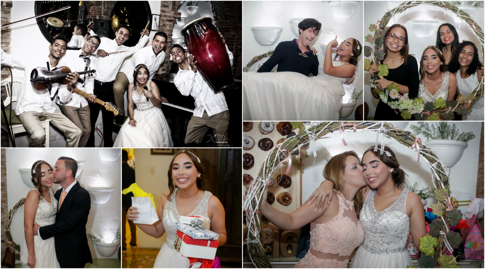 X Pro events - Quince Arianys Perez - Fotografia - Collage