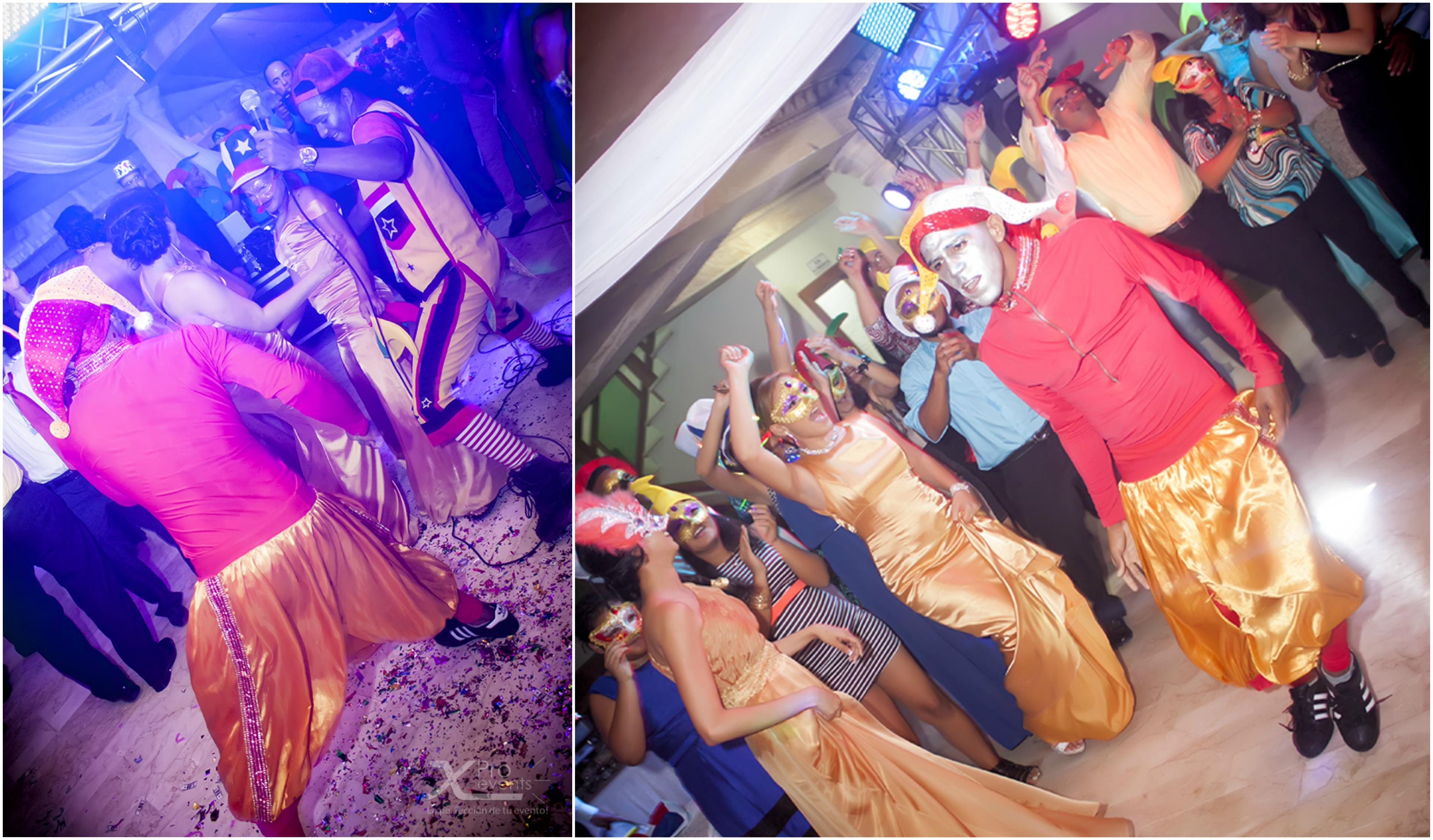 www.Xproevents.com - Bufon en hora loca de boda en Bani