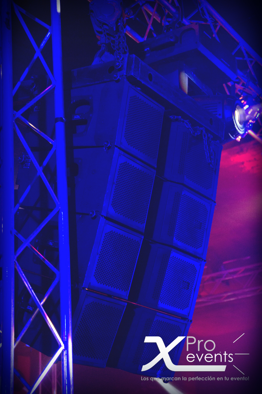 Truss para Sonido Line Array