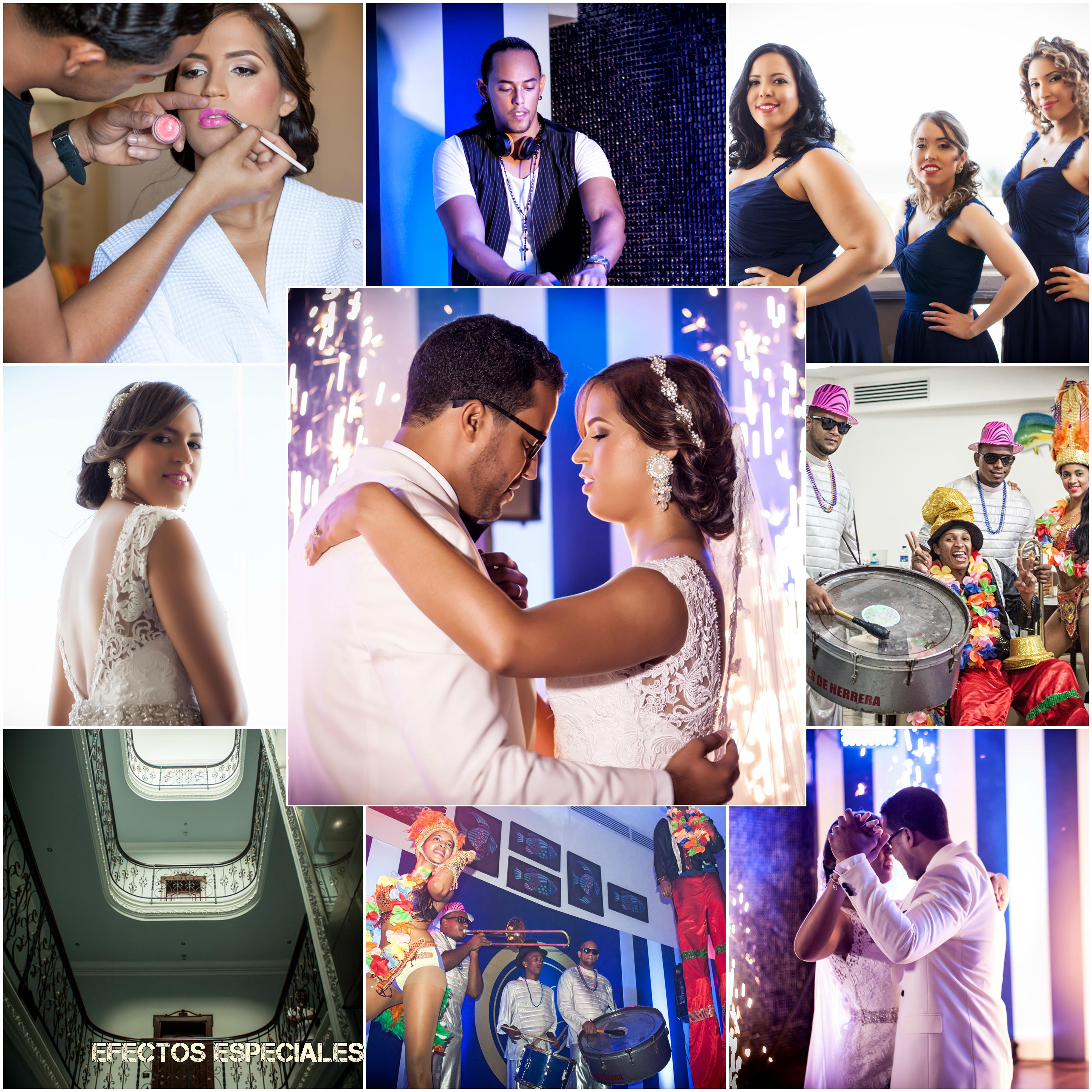 www.Xproevents.com - Collage boda Pablo & Noelia con Chispas Zanco Percusion & Samba