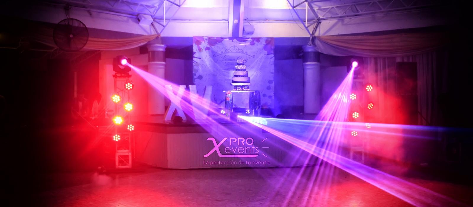 Montaje para quince anos - X Pro Events