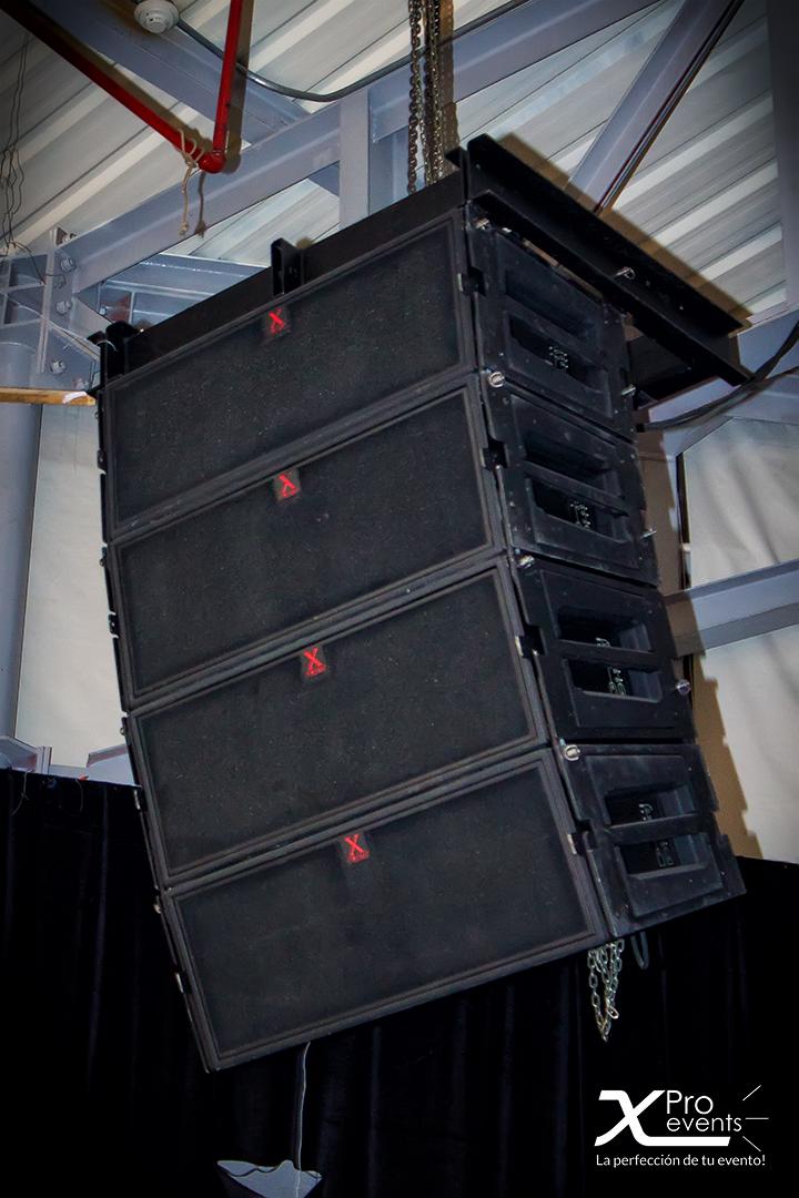 www.Xproevents.com - Sistema de sonido Line Array para grandes eventos