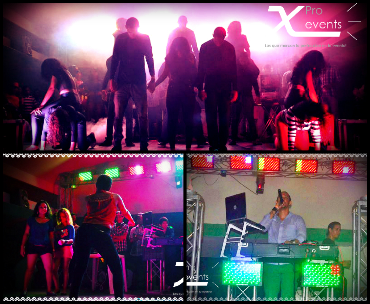 www.Xproevents.com - Tarima -Truss -Sonido -Luces moviles y LED -Dj -Humo en Bon