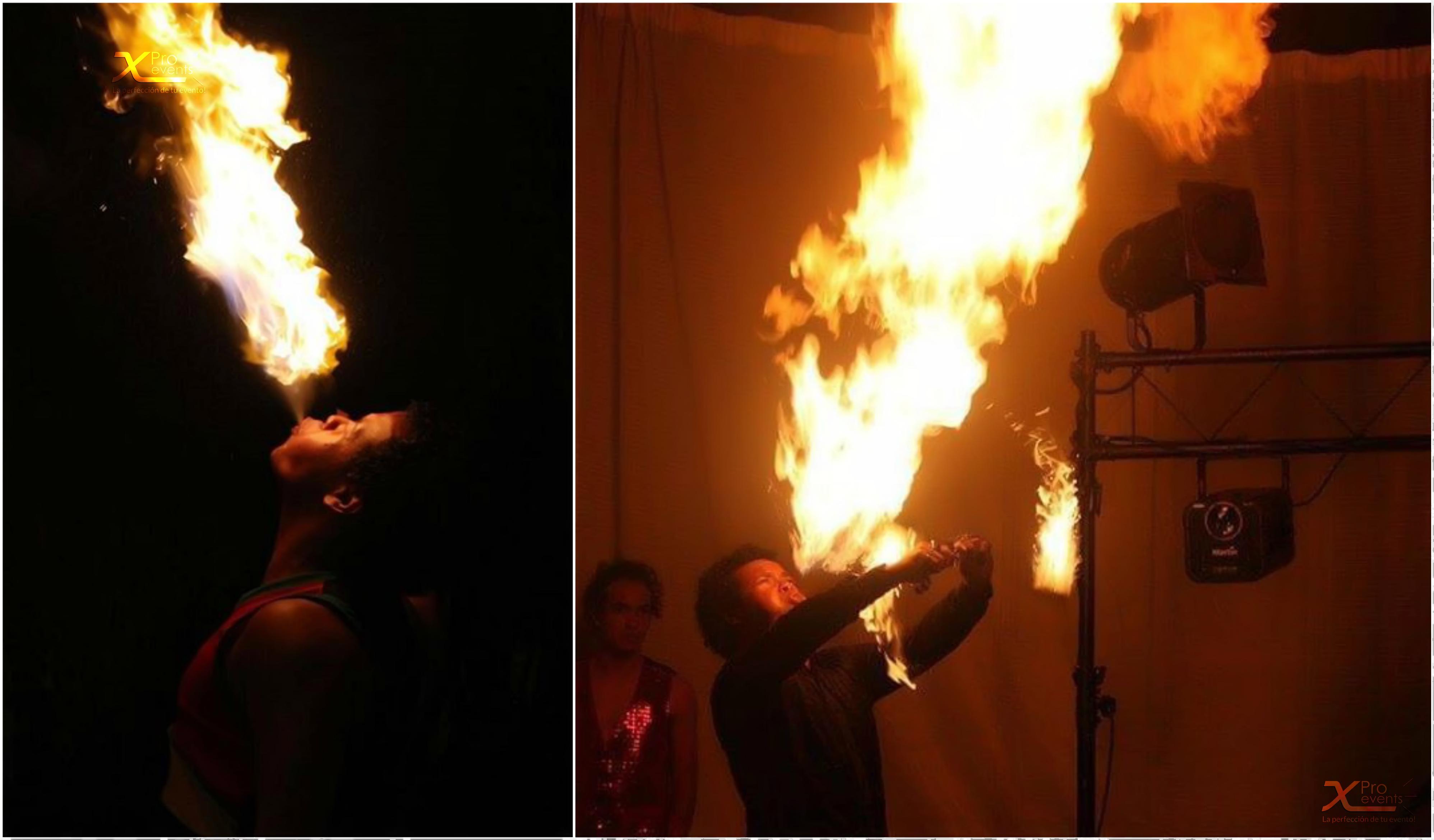 Escupe fuego - Hora Loca - X Pro events