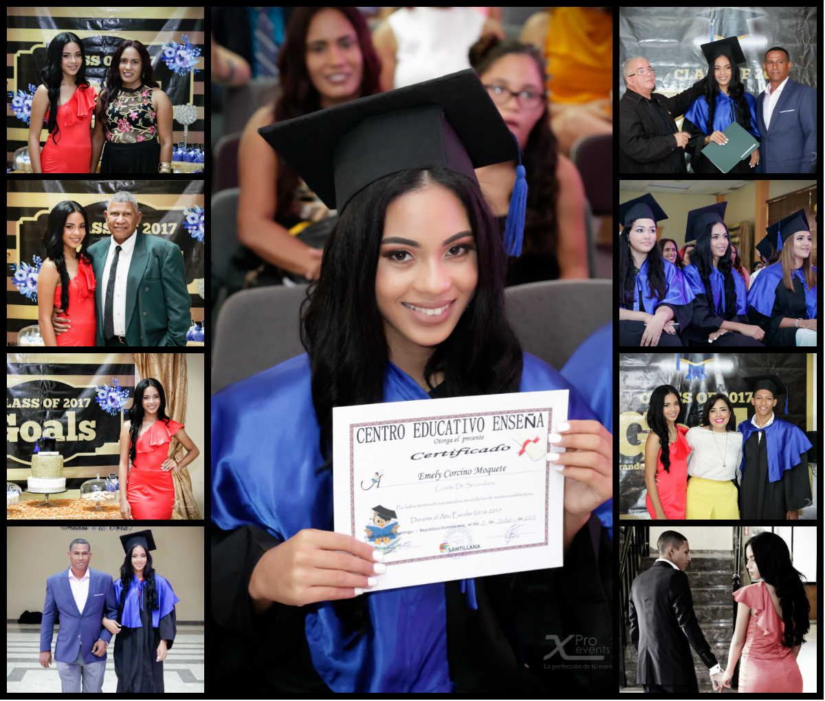 Graduacion Emely Corcino By X Pro events (Collage)