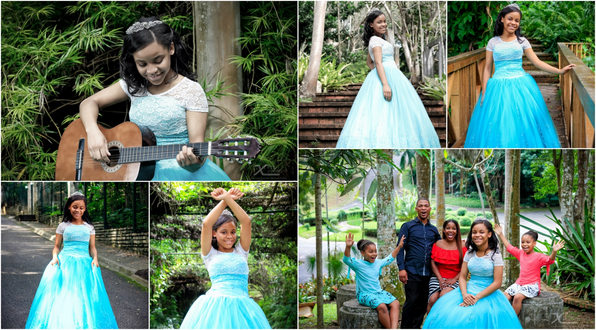 X Pro events Collage - Sesion Raisibell Asuncion - Fotografia