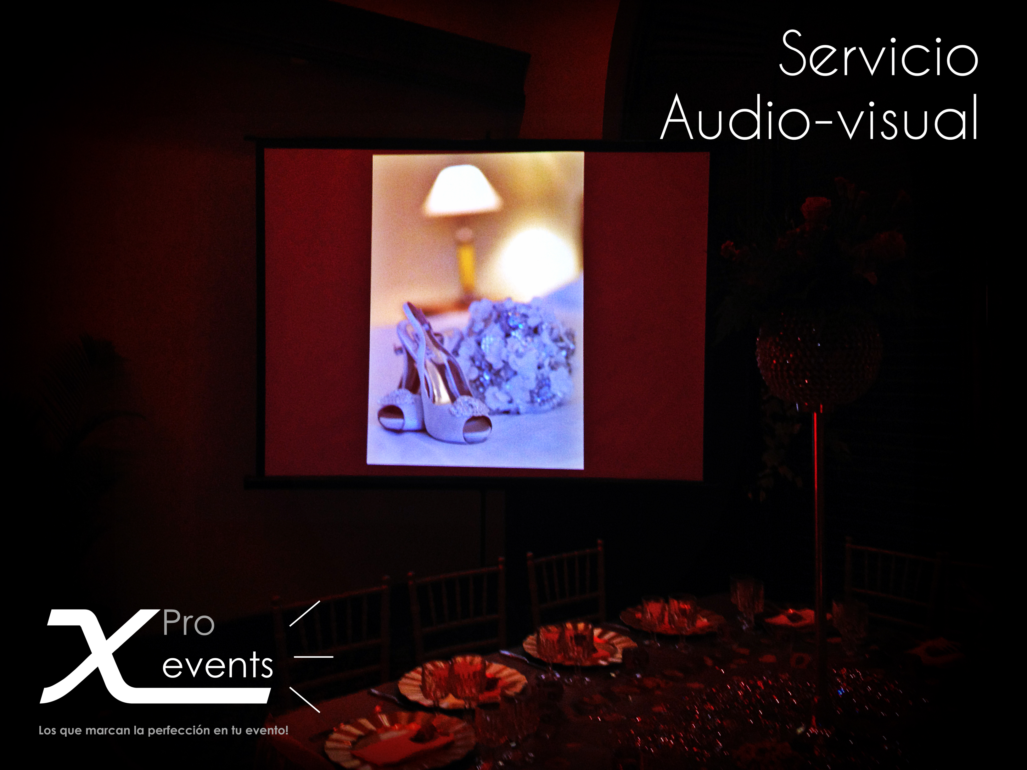 X Pro events  - 809-846-3784 - Sistema de proyeccion audiovisual - Hotel Santo D