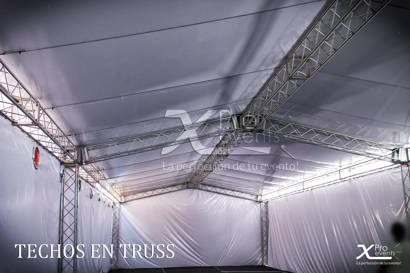 www.Xproevents.com - Techos truss para grandes eventos