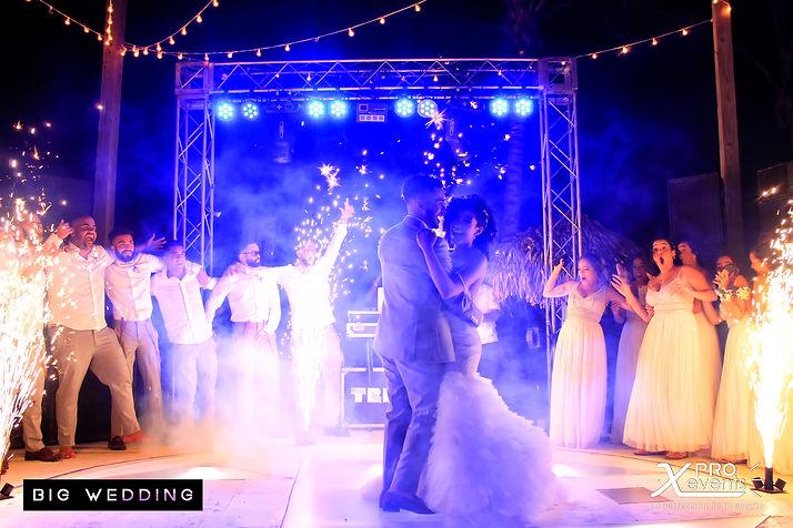 X Pro Events - Montaje para boda - Pirot