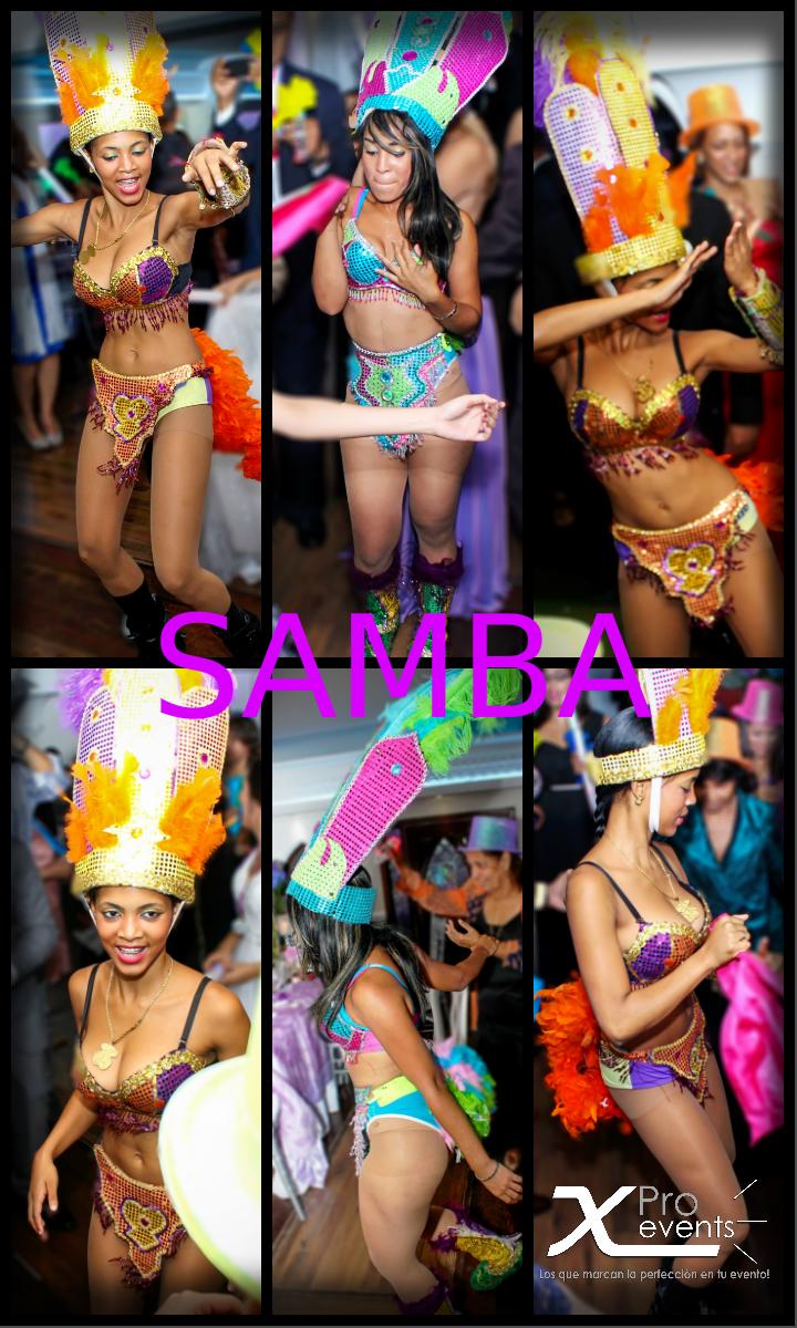X Pro events - Bailarinas de Samba en Scherezade 01.jpg