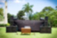 X Pro events - Tarima con sonido podium