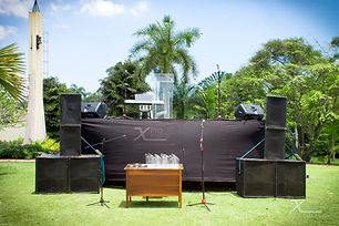 X Pro events - Tarima con sonido podium
