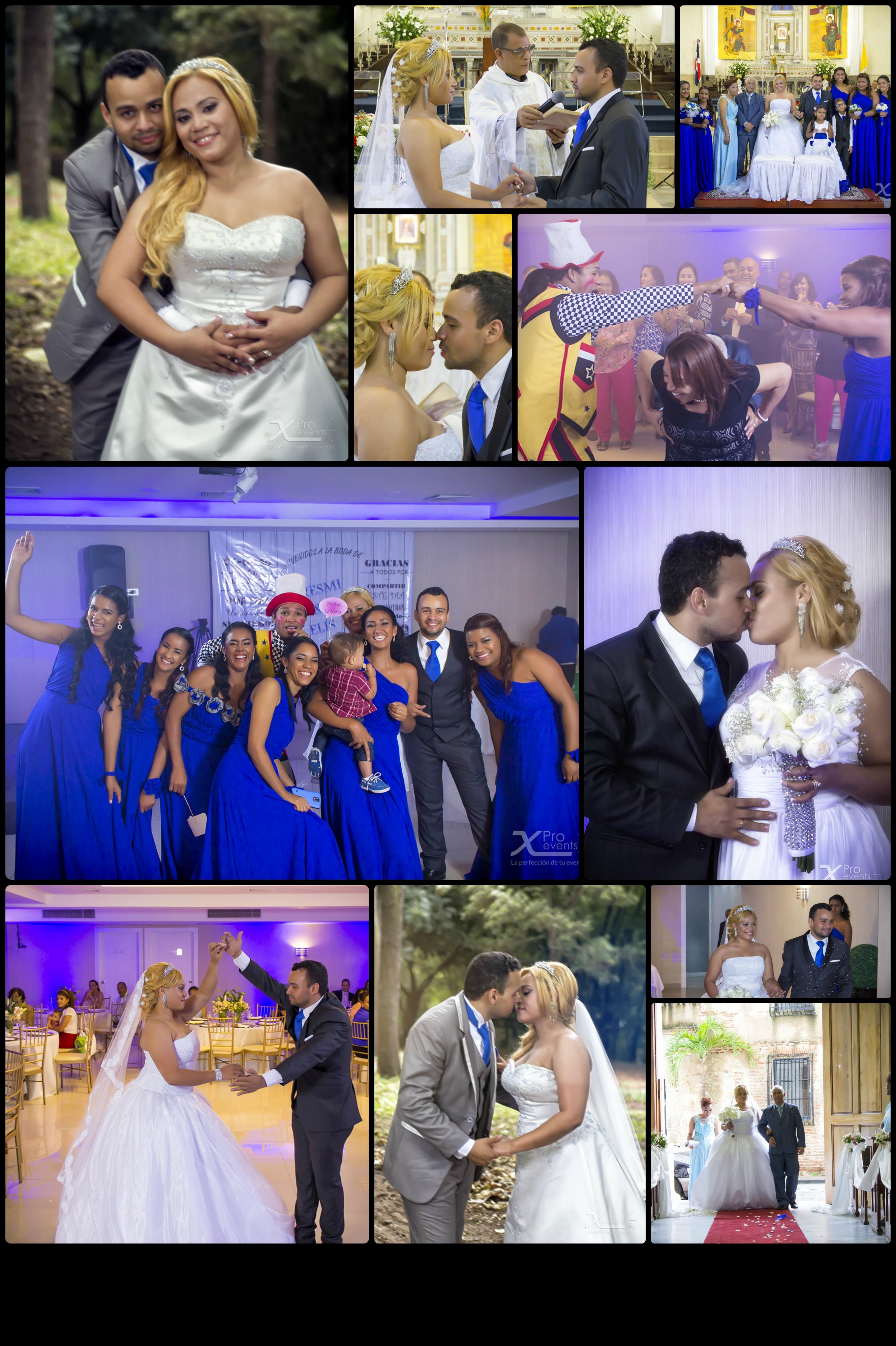 www.Xproevents.com - Collage de boda Elis e Isabella