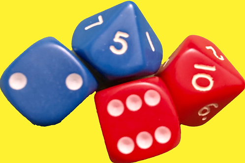 Spot and polyhedral dice