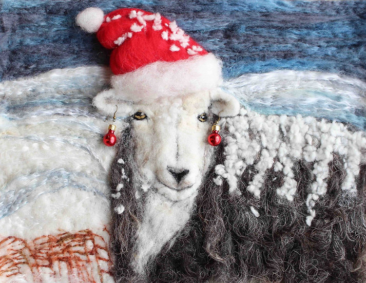 Herdwick Christmas card