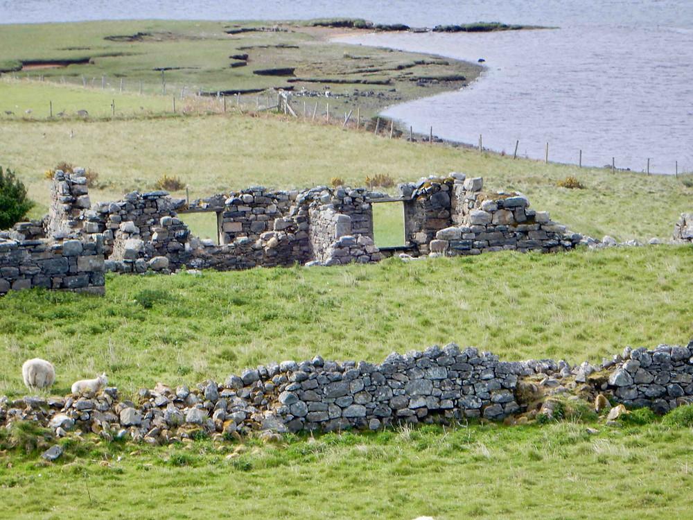 Abandoned croft, northern Scotland