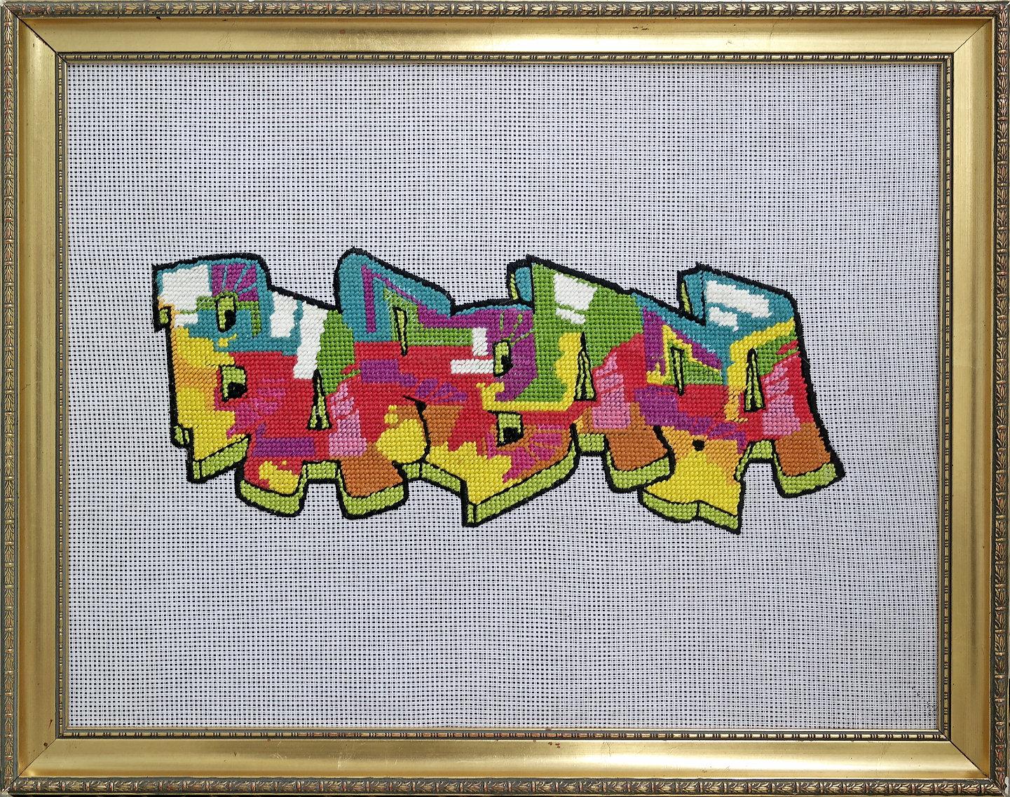Graffiti Barbara Olmos