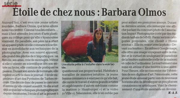 Barbara Olmos Étoile de chez nous