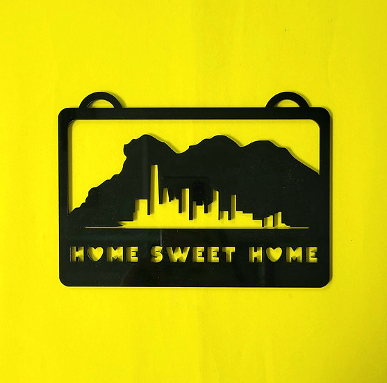 門牌: Home Sweet Home