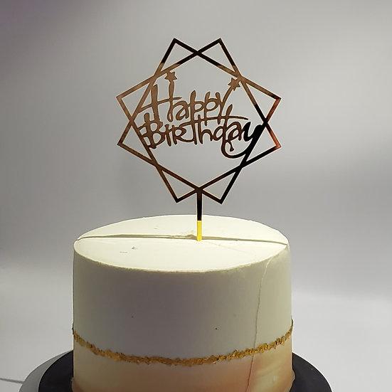 Happy Birthday (Double Square)