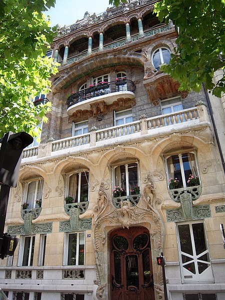 Immeuble Lavirotte