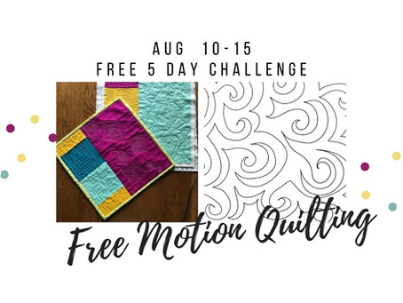 Announcing a FREE 5 day challenge!