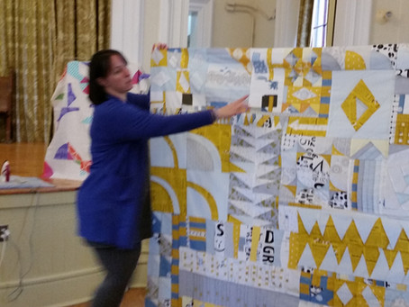 Quilting-ideas to complete a quilt