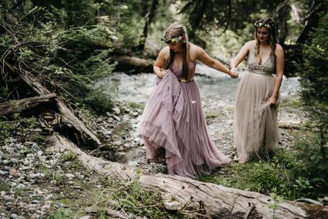 Jillyan + Cassidy | Brighton, UT Intimate Wedding