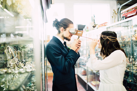 Antique Mall Elopement | Styled Shoot