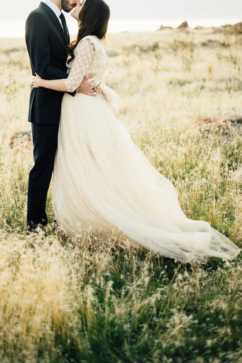 Sun Drenched Utah Bridals