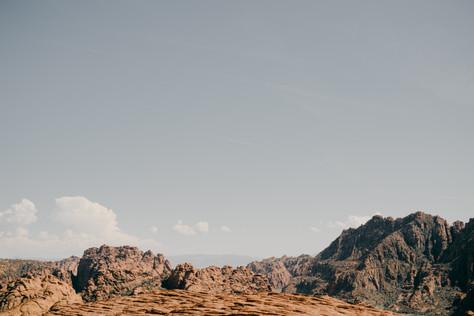 Jeff + Dana | Snow Canyon Elopement