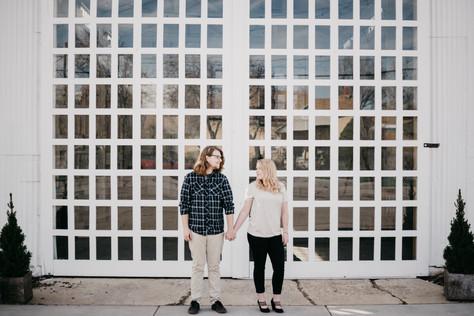 Kayla + Dallin | Downtown Provo Engagements