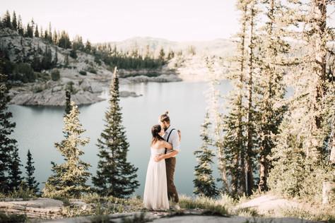 Utah Mountain Vow Renewal | Utah Elopement Photographer
