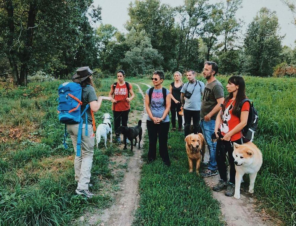 Escursione sull'Adda - Balanced Dogs Alessio Borromeo