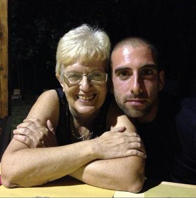 Alessio Borromeo con Valeria Rossi