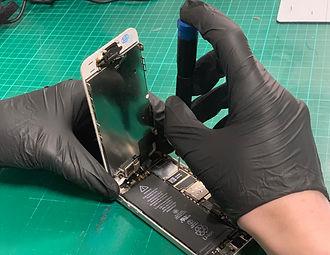 During Repair
