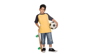 Active healthy boy Sound Bodies for Life