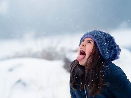 Magical Snow Portrait Session in Idaho!