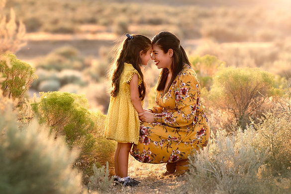 Mother daughter love!