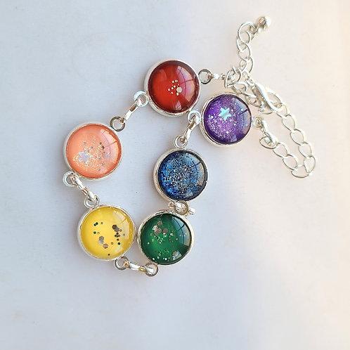 Rainbow Bracelet by Elizabeth Ostwald