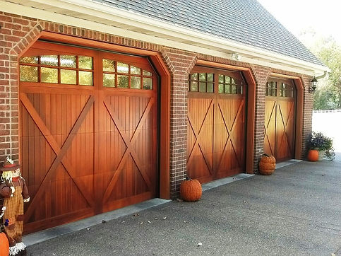 Fitchburg/Leominster Carriage House Garage Door