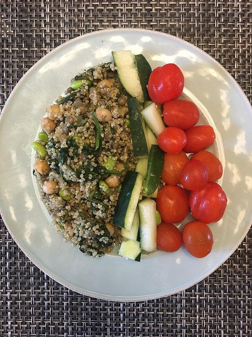 Quinoa Lentil Salad*
