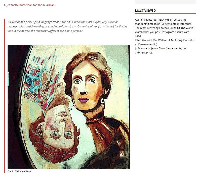 Christiaan Tonnis The Circular Virginia Woolf 2