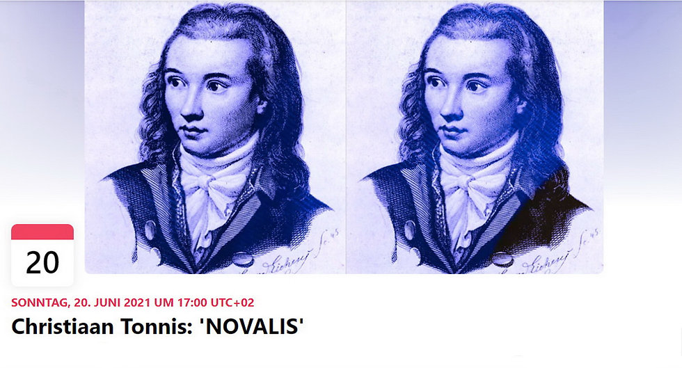 Christiaan Tonnis Novalis Performance at Eulengasse