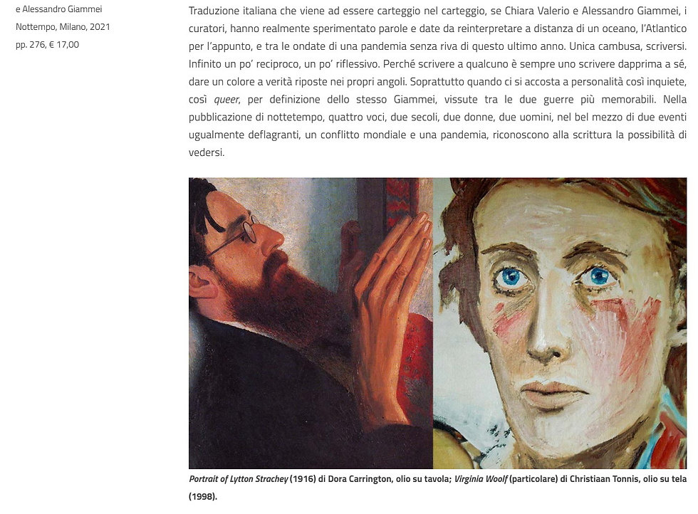 Christiaan Tonnis Quaderni Virginia Woolf 2