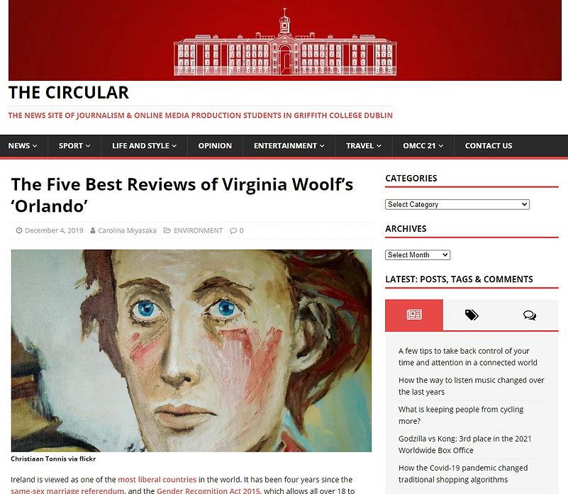 Christiaan Tonnis The Circular Virginia Woolf 1