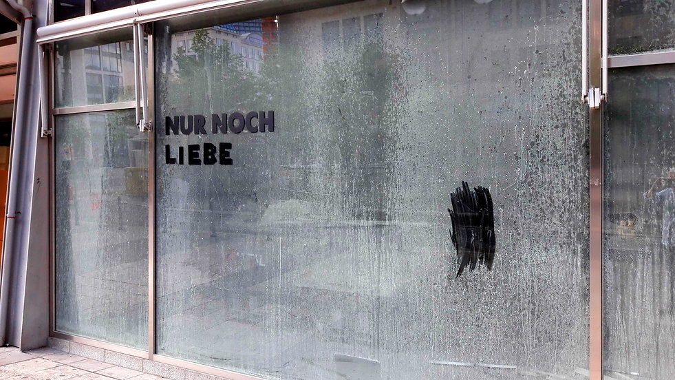 Christiaan Tonnis Lockdown am Rathenauplatz Nur noch Liebe